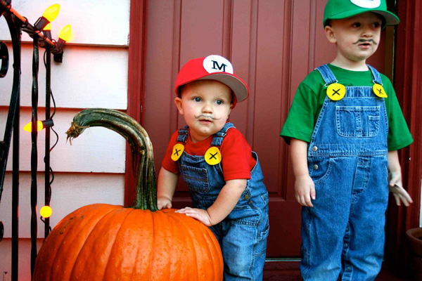 Mario Bros. costume