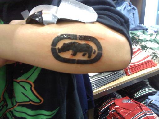 Ecko tattoo