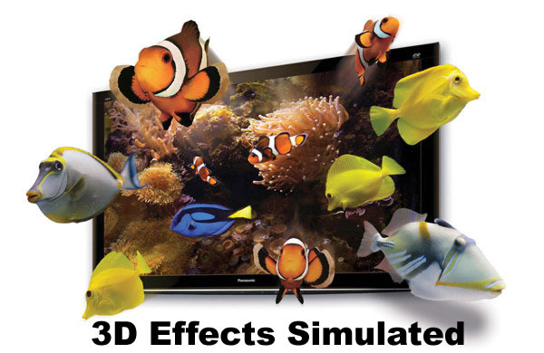 3D TV Simulation