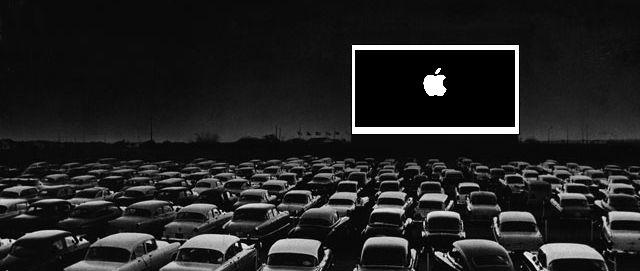 Apple iPad Drive-In