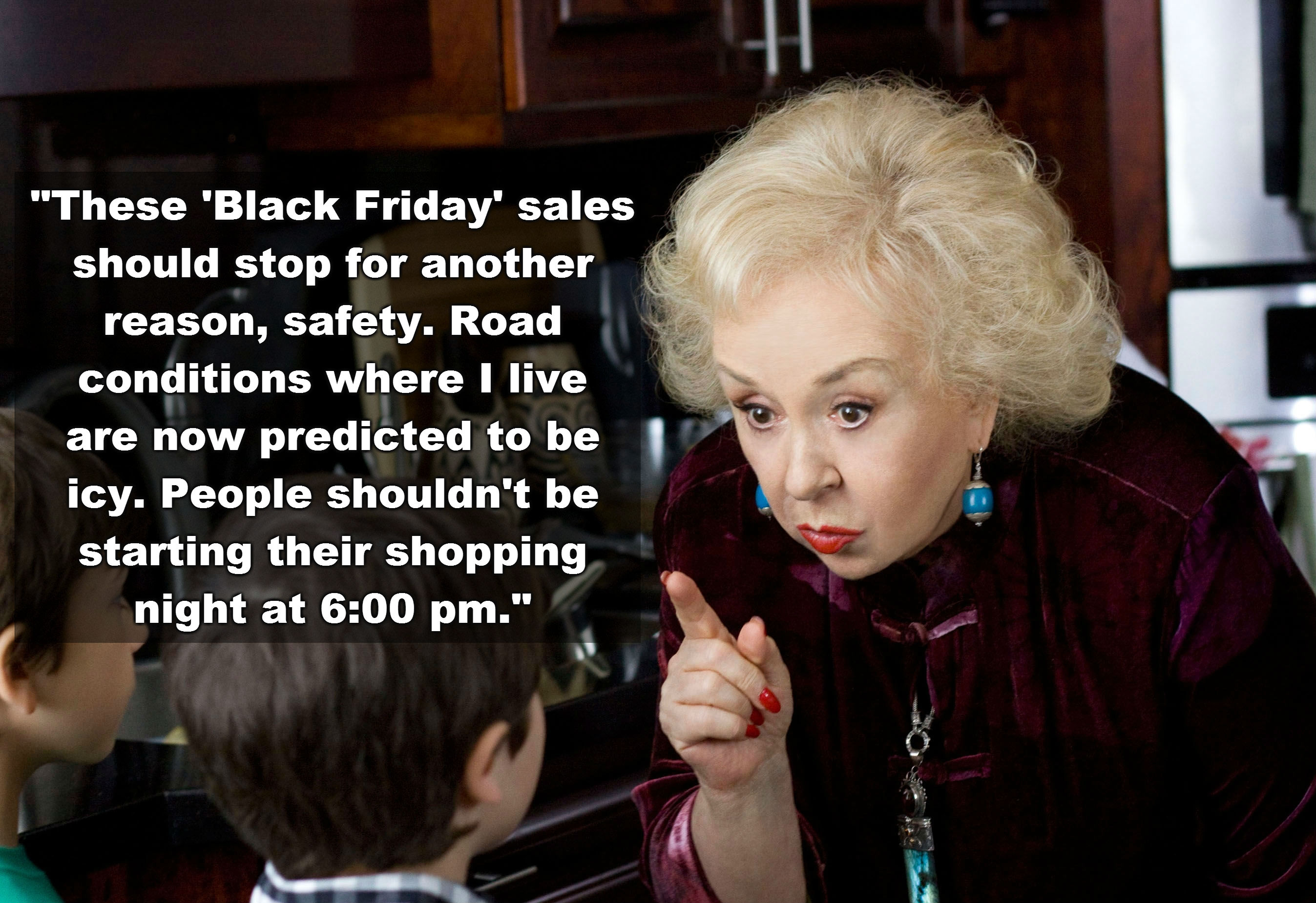 Black Friday comments