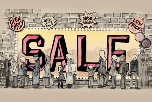 sales window