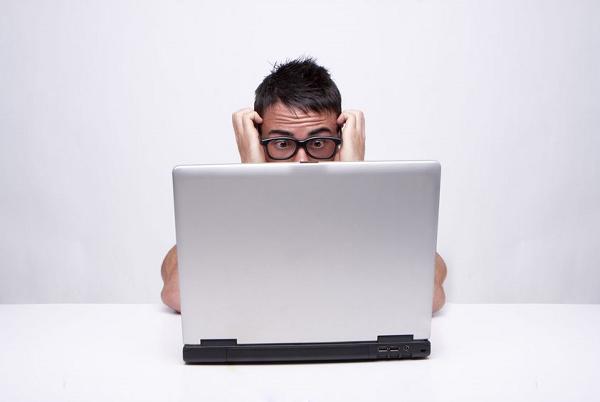 laptop confusion