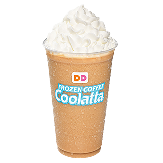 Dunkin Donuts coffee coolata
