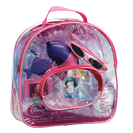 Disney Princess Backpack Fishing Kit
