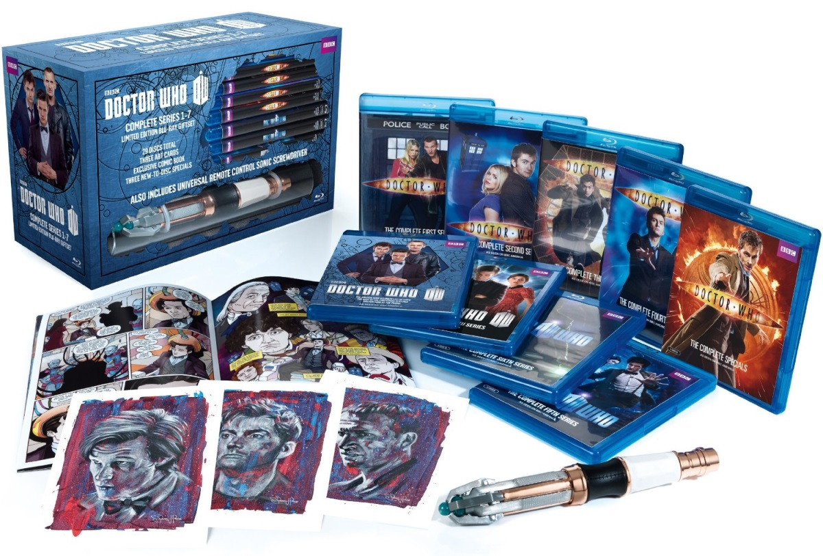 Dr. Who Box Set