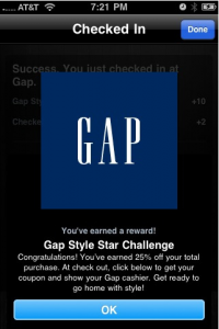 Gap Groupon