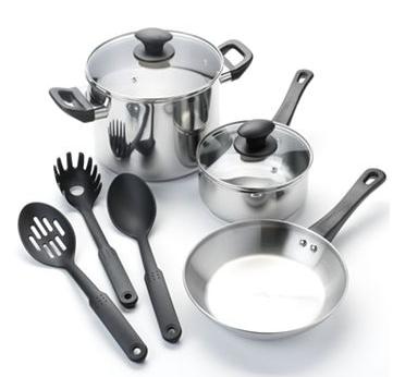 8-piece cookware set