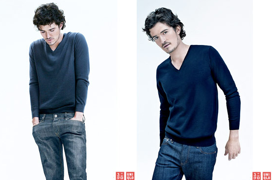 Orlando Bloom UNIQLO