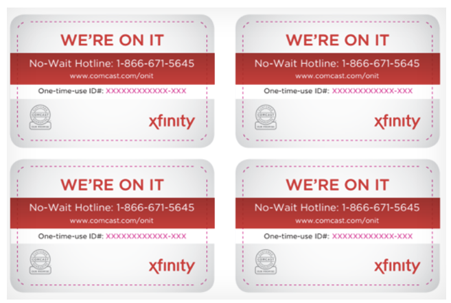 Comcast Cards