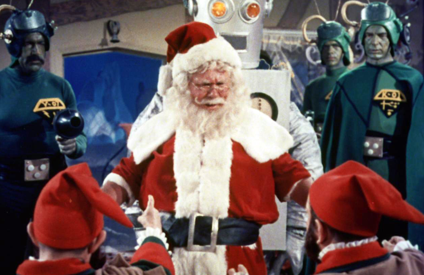 Santa Claus Martians