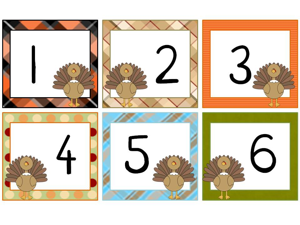 Turkey Numbers