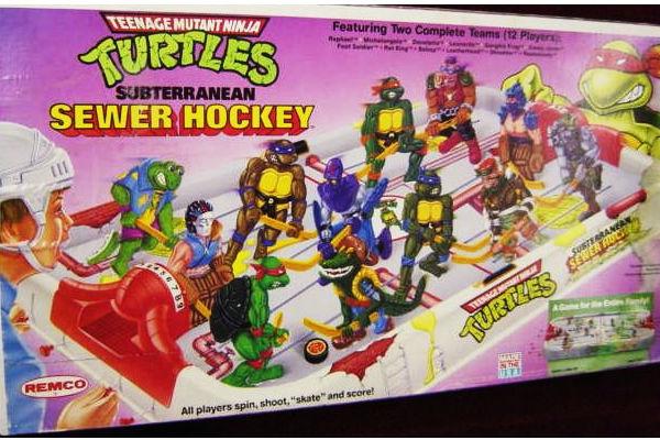 Sewer Hockey