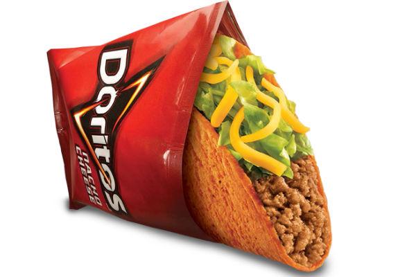 Taco Bell's Doritos Locos Taco