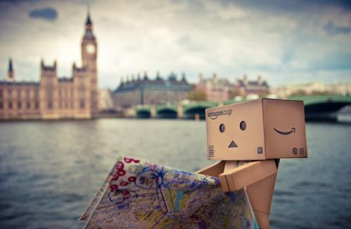 Amazon Box In London