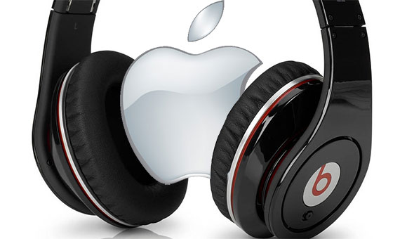 Apple Logo Beats Headphones