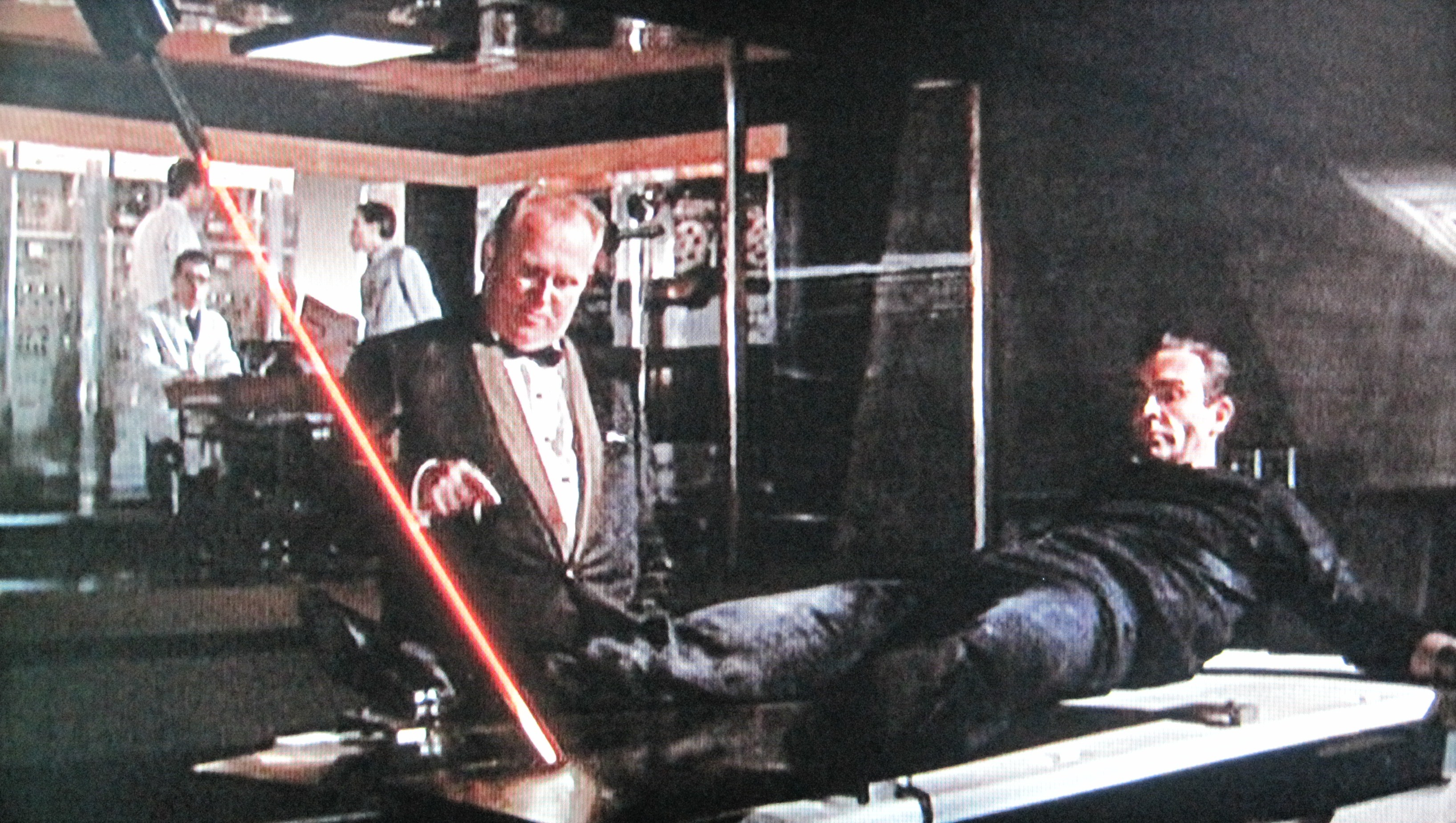 Goldfinger Bond Laser
