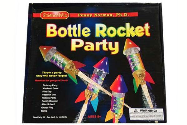 ScienceWiz Bottle Rocket Party