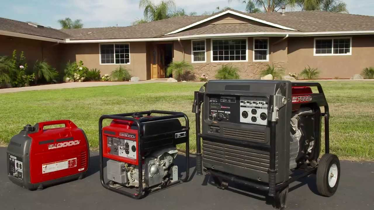 choose the right generator