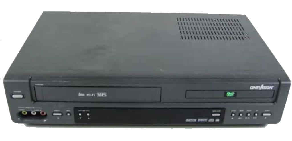 Cinevision DVD VCR