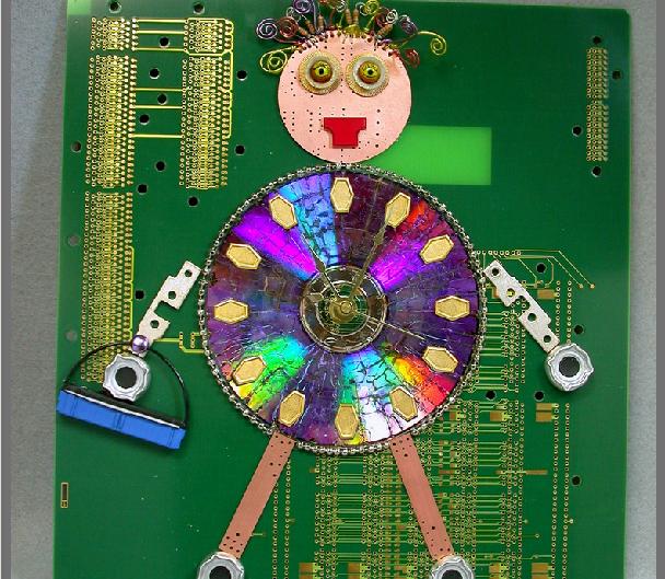 computer chip art