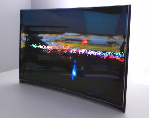 curved TV