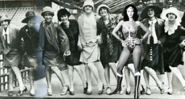 Flapper Wonder Woman