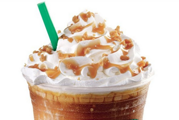 starbucks frozen coffee