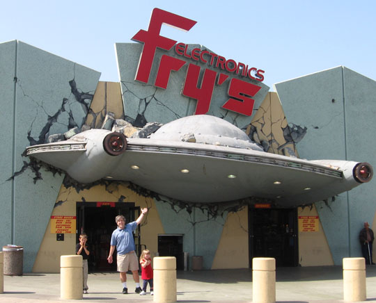 Fry's Store Theme