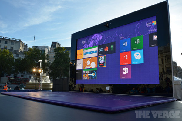 Giant Microsoft Surface