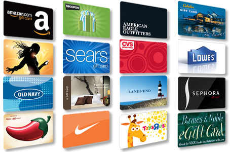 Gift Card Collage