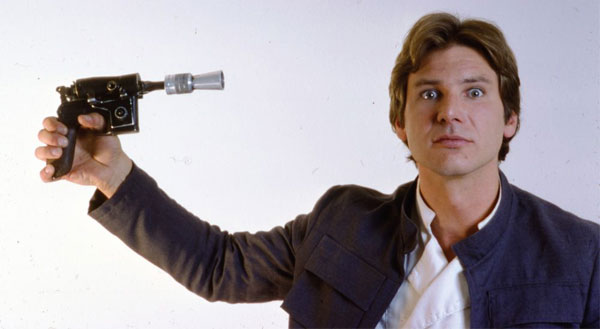 Han With DL-44 Blaster