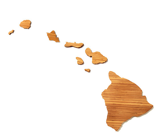 Hawaii cutting board