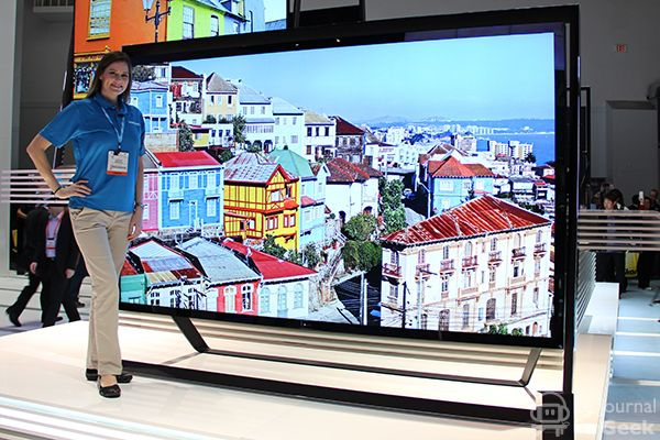 Huge Samsung TV
