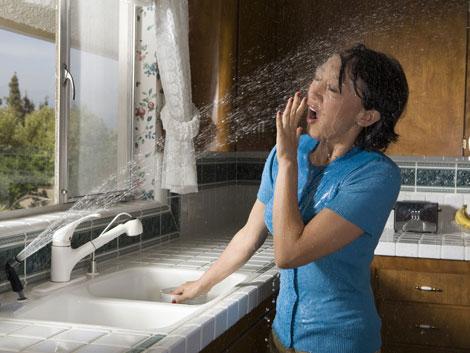 sink sprayer prank