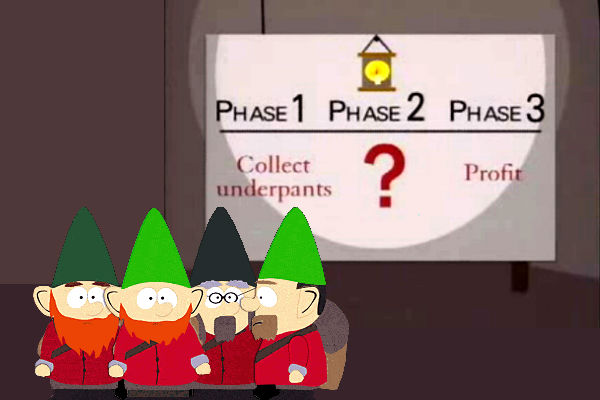 South Park Underpants Gnomes