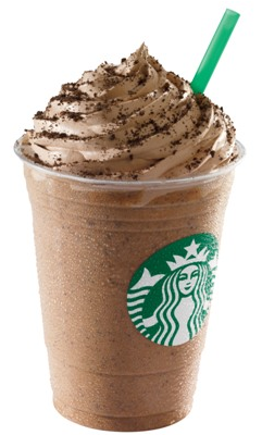 Starbucks Cookie Crumble Frappucino