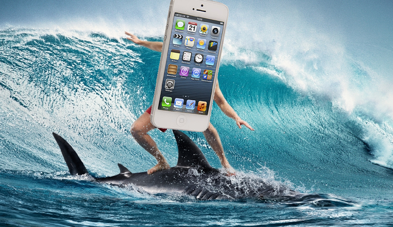 Surfing iPhone