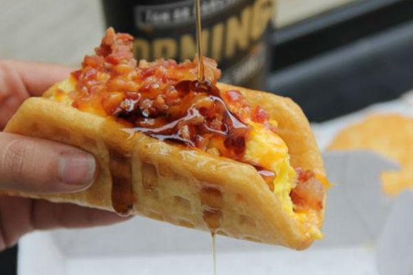 Taco Bell's Waffle Taco