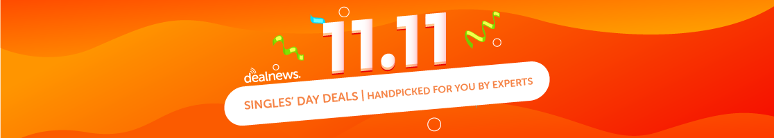 Shop Singles' Day Deals Today!