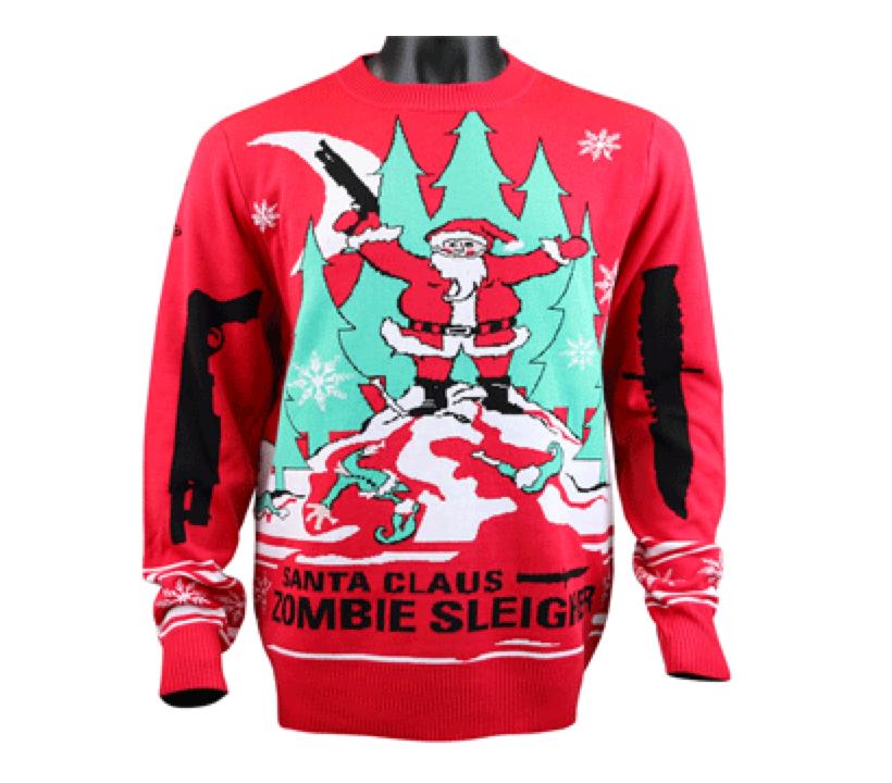 Santa Zombie Sweater