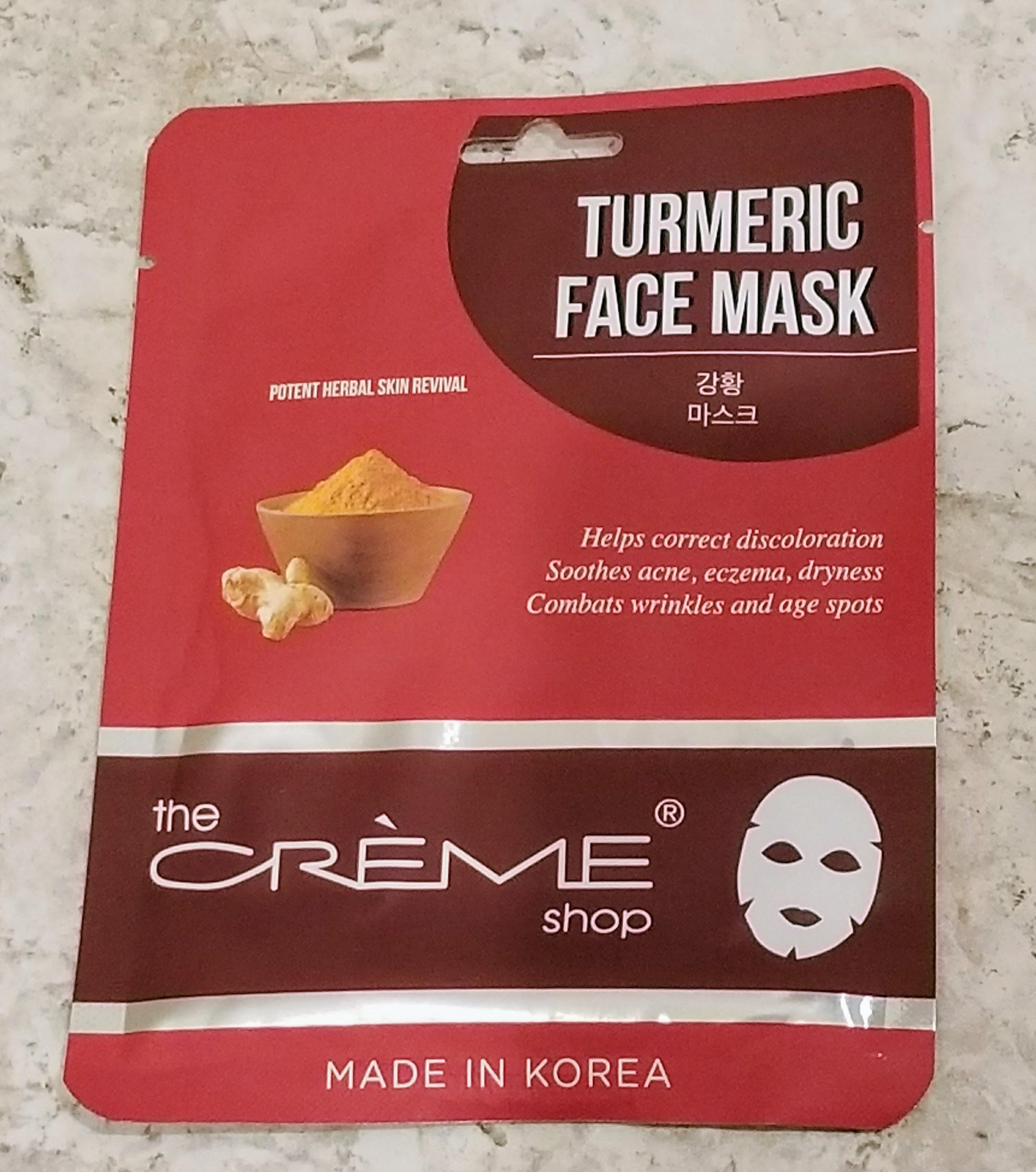 Creme Shop Turmeric Mask