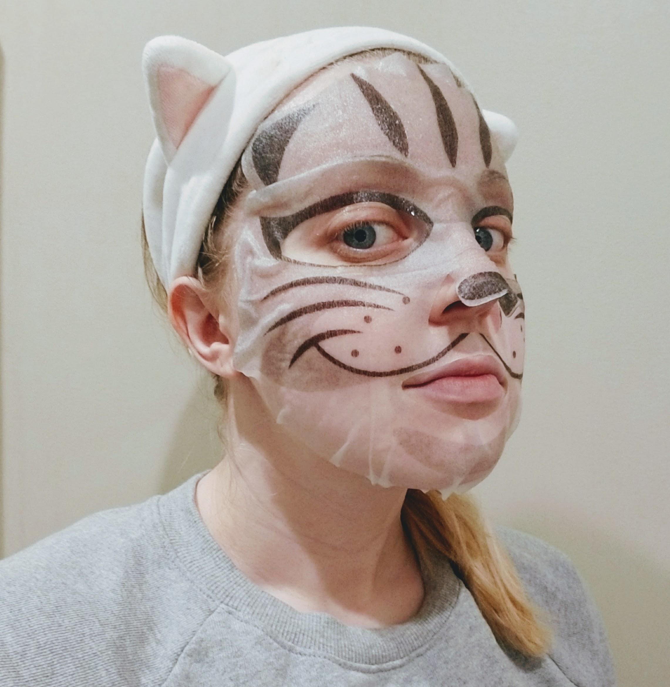 Animalz Cat Mask lol