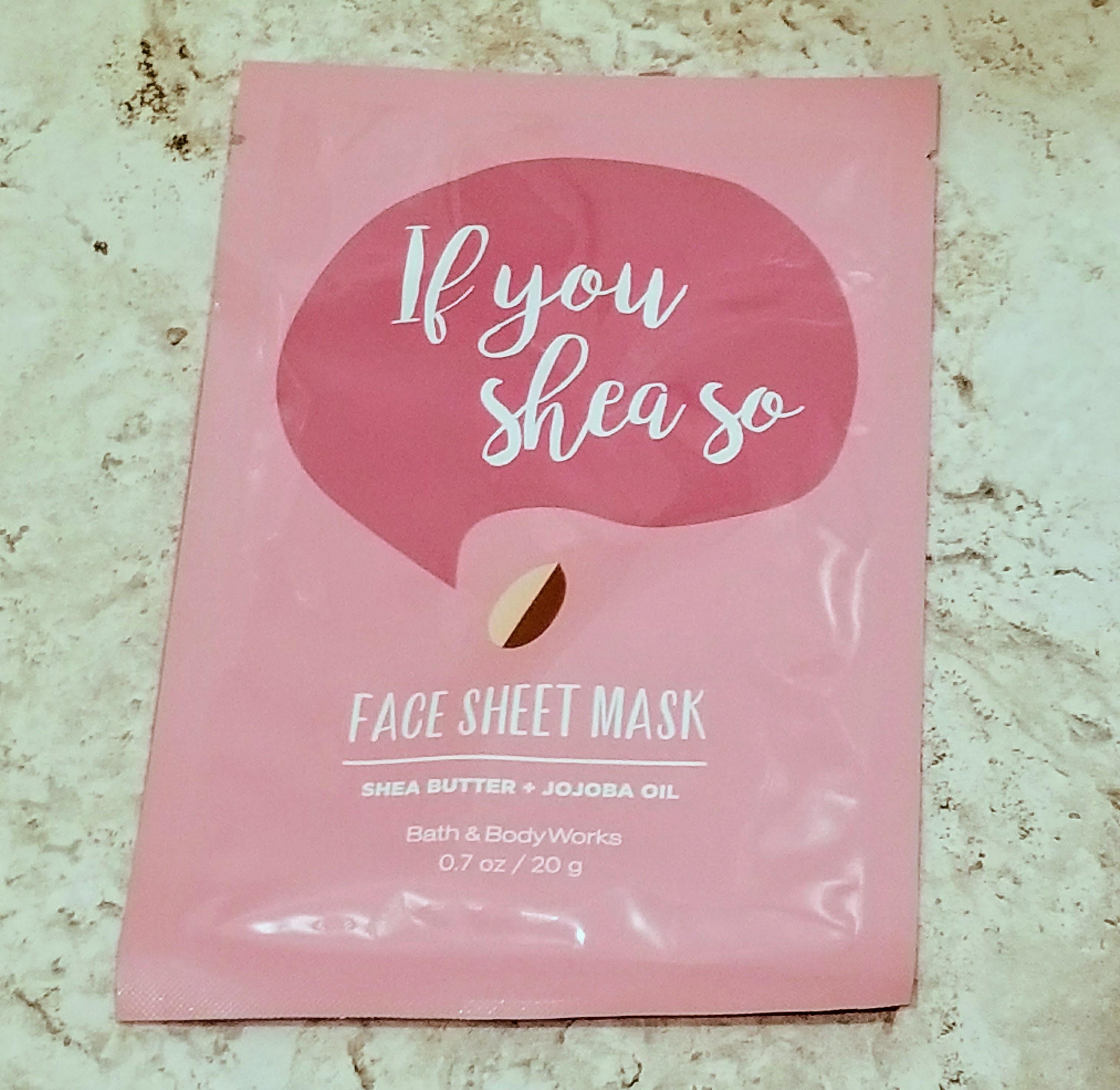 If You Shea So Mask