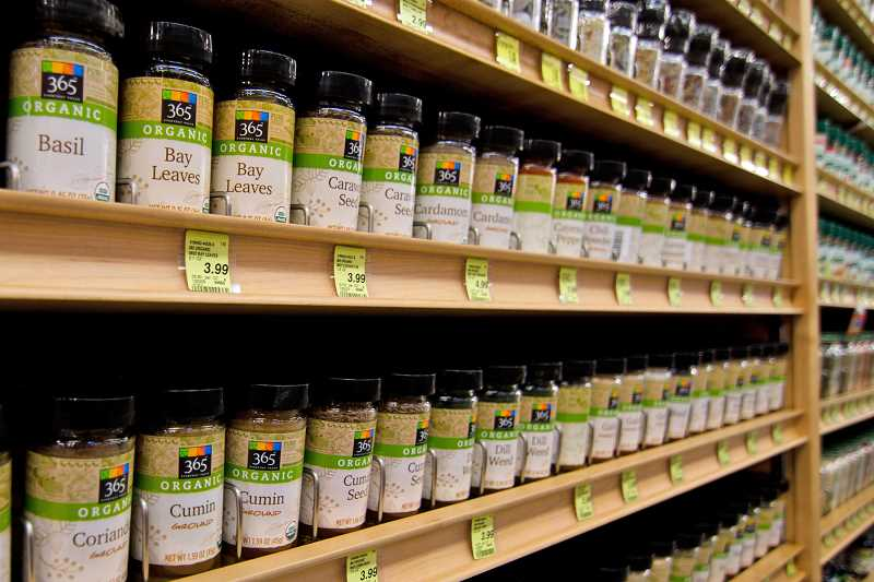 Whole Foods spices