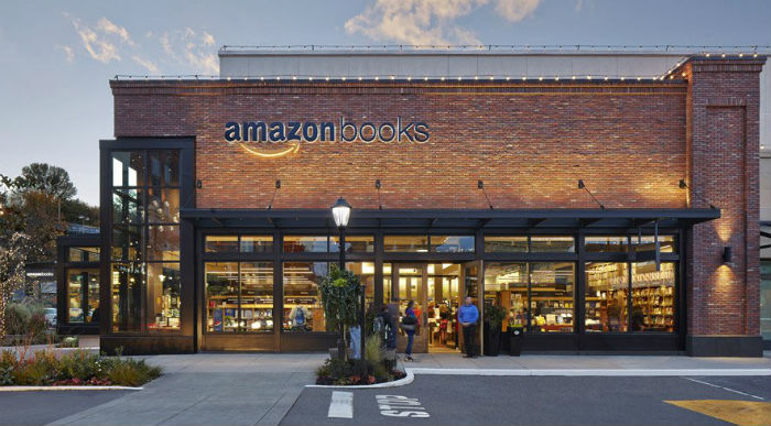 Amazon Books exterior