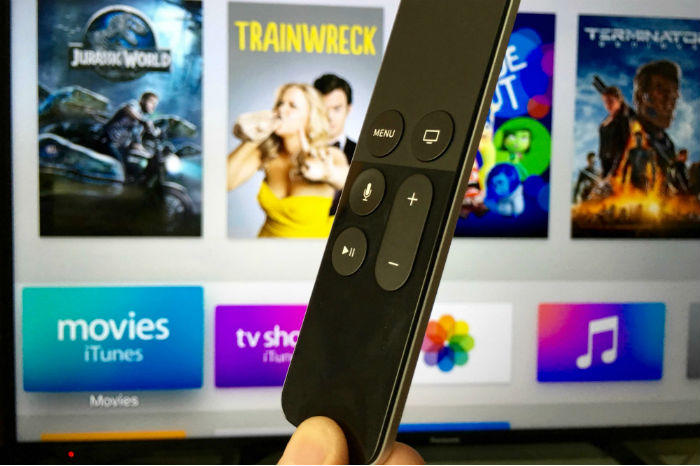 Apple TV streaming media player