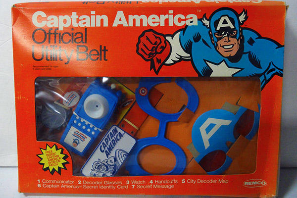 Captain America utility belt