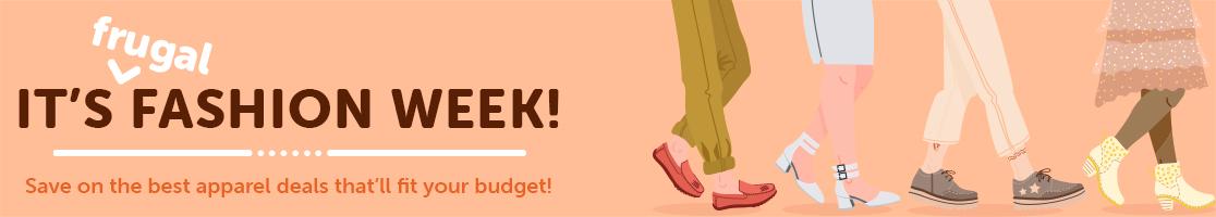 Shop Frugal Fashion Week Deals