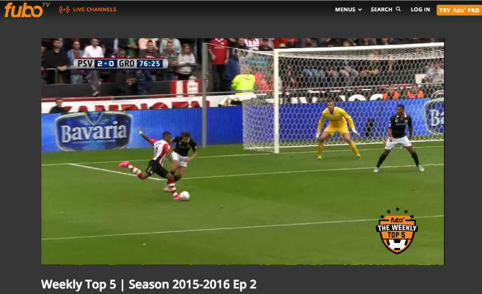 fuboTV streaming